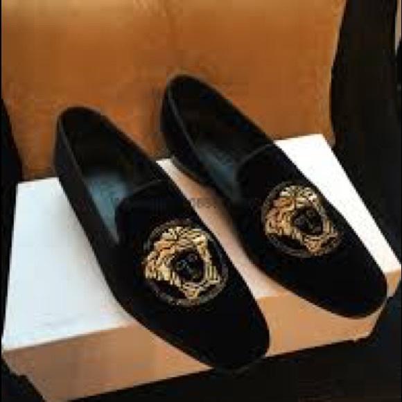 Versace Shoes | Versace Medusa Black